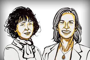 Emmanuelle Charpentier Jennifer Doudna awarded Nobel in Chemistry for gene editing