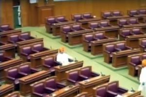 Empty seats mark first day of Ktaka Assemblys winter session in Belagavi