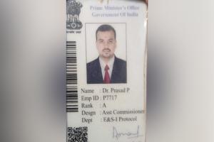 PMO CBI and Interpol Chennai man with many fake IDs caught in Madras HC