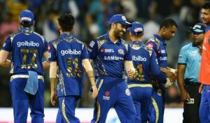 Rohit Sharma stars as Mumbai Indians ease to 49-run win over KKR
