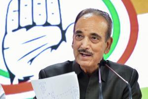 Senior Congress leader Ghulam Nabi Azad tests positive for coronavirus