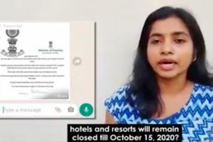 Fact Check No restaurants and resorts will not be closed till October 15
