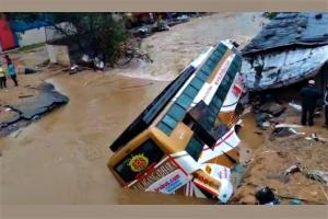 Record rainfall and poor urban planning What caused Hyderabad to flood