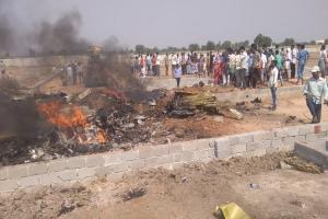 IAF flight on training mission crashes near Hyderabad pilot safe