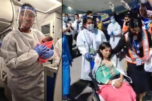 Overwhelmed that the baby was fine Doctor who delivered baby on Indigo flight
