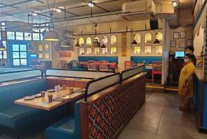 Bengalurus Indiranagar restaurants open but wear desolate look with few customers
