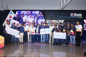 Blurus Ethereal Machines med-tech firm JioVio win ITC Infotechs startup contest