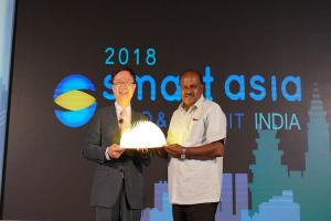 Ktaka CM Kumaraswamy inaugurates second edition of smart cities summit in Bluru
