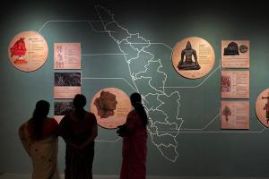 This unique museum traces the history of Malayalam and Keralas indigenous culture