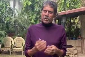 Kapil Dev says feeling very good thanks well-wishers in video post angioplasty
