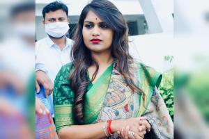 Popular Telugu TV anchor Kathi Karthika booked in Rs 1 crore cheating case