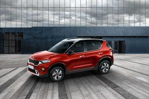 Kia Motors unveils made-in-India compact SUV Sonet