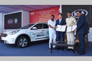 Kia Motors signs MoU with Andhra govt for future eco mobility