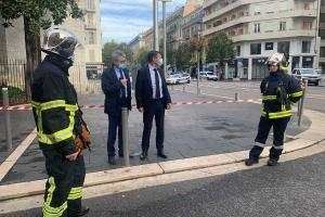 Knife attack in France Woman decapitated two others killed near Nice church