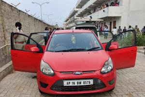 Three girls in Andhra die of suffocation after getting locked inside a car