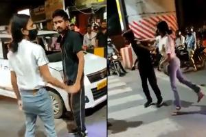 Lucknow woman thrashes cab driver where are the feminists
