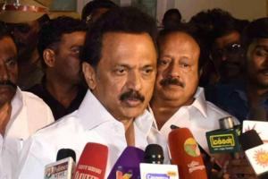 TN HIV blood transfusion cases DMKs MK Stalin calls for sacking of Health Min Secy