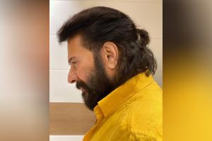 Actor Mammoottys new hairdo on Instagram goes viral