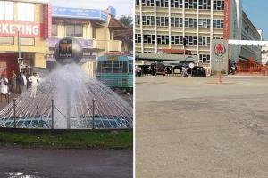 Iconic Manipal landmark Tiger Circle taken down