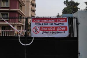 COVID case count in MIT Manipal reduces containment zone restrictions to lift soon