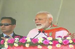 Narendra Modi blows poll bugle in Madurai defends economically weaker sections quota