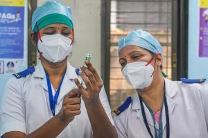 53341 health workers vaccinated in Karnataka 49 covered