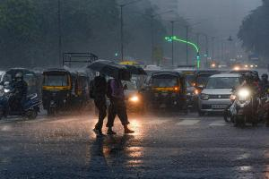 Mumbai rains bring city to standstill red alert issued for four days