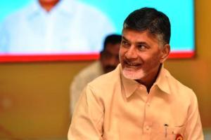 Andhra CM Naidu lays foundation stone for Rs 3000 cr GMR Port near Kakinada
