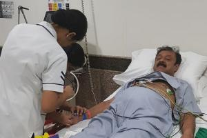 JDS MLA releases video from hospital bed says cant attend Budget session