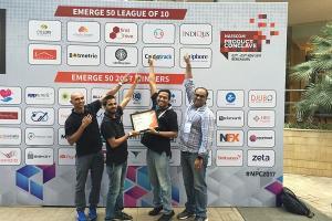 T-Hub startup Hug Innovations makes it to top 10 of Nasscom Emerge 50 2017 awards
