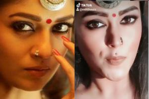 Which of them is Nayanthara Six south celebs and their look-alikes