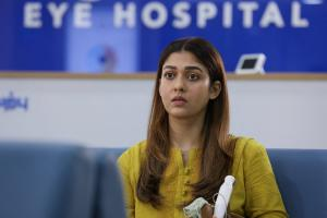 Netrikann review Nayanthara is superb in a thriller that loses steam halfway
