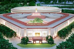 Construction work of new Parliament building at Centra Vista begins