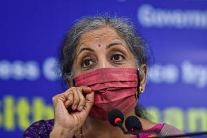 FM Nirmala Sitharaman writes to states on GST explains Rs 11 lakh cr borrowing plan