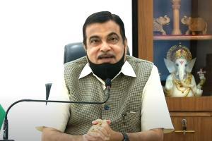 Livid about delay in completing NHAI building Gadkari slams officials at inauguration