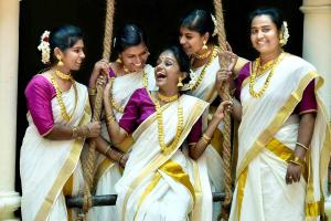 How the Onam sari has evolved and blended in with the modern