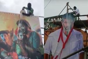 Fans steal packets TN Milk Dealers body seeks ban on paal abhishekam for cut-outs