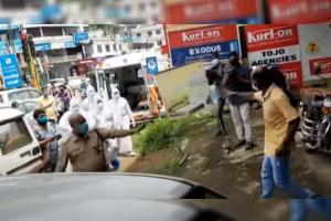 Watch Health workers in PPE chase and nab Kerala man who violated quarantine