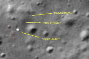 Chandrayaan-2 rover may still be intact on moons surface Chennai techie finds