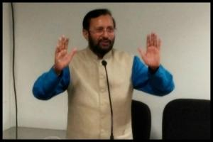 Union Min Javadekar seeks action against Siddaramaiah for misbehaving with woman