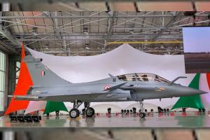 In a first woman pilot set to join Rafale fighter fleet in Indian Air Force