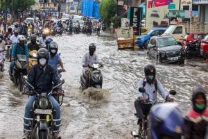 Deep depression crosses north Andhra coast near Kakinada heavy rains forecast
