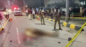 Murder in Hyderabad caught on camera second attack in 24 hours