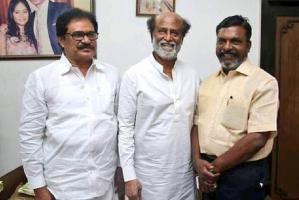 Met Thirunavukkarasar to give Soundaryas wedding invite Rajini quells speculation