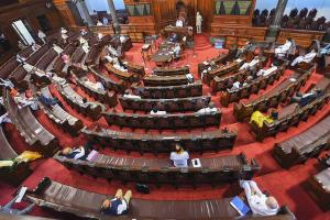 Andhra special status YSRCP MPs demand discussion in RS disrupt proceedings