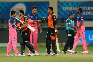 Sunrisers Hyderabad keep playoff hopes alive with win over Rajasthan Royals