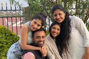 In pics Sai Pallavi is casual and chic in photo with family