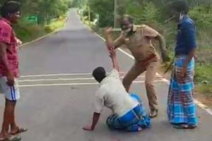 We want answers Friend who recorded TN cop assaulting Murugesan speaks to TNM