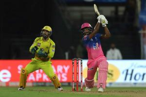 Record 33 sixes hit in CSK vs RR clash in Sharjah Sanju Samson leads the charge