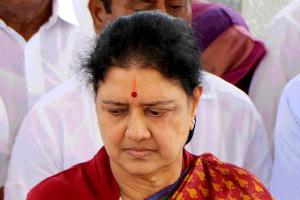 VK Sasikala suffers from fever and breathing difficulties shifted to hospital